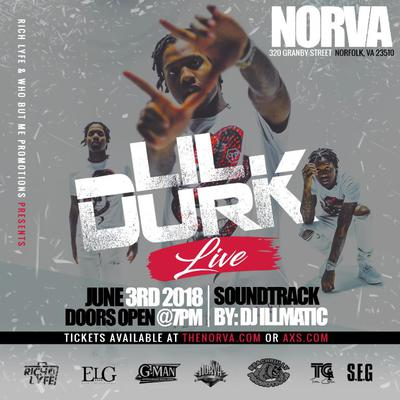 Lil Durk live at the Norva June 3rd tickets on sale now at norva.com