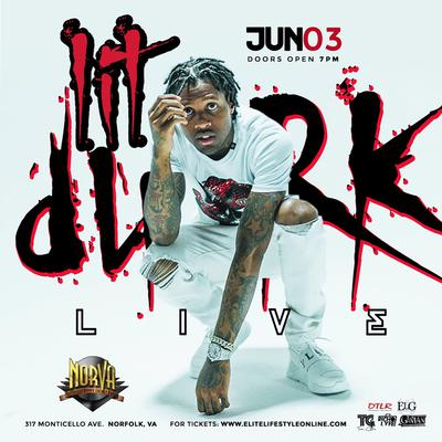 Lil Dirk live at the Norva June 3rd tickets on sale now at norva.com